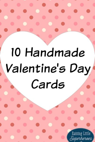 10 Handmade Valentine's Day Cards