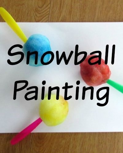 How To Create A Snowball Painting