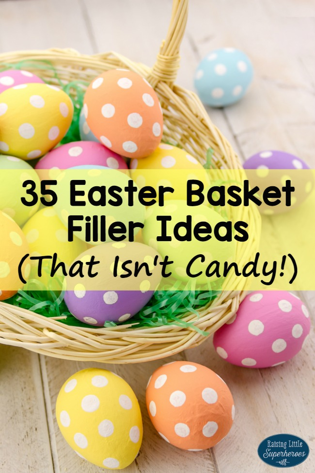 35 easter basket filler ideas that isnt candy easter basket filler ideas easter baskets easter ideas for kids negle