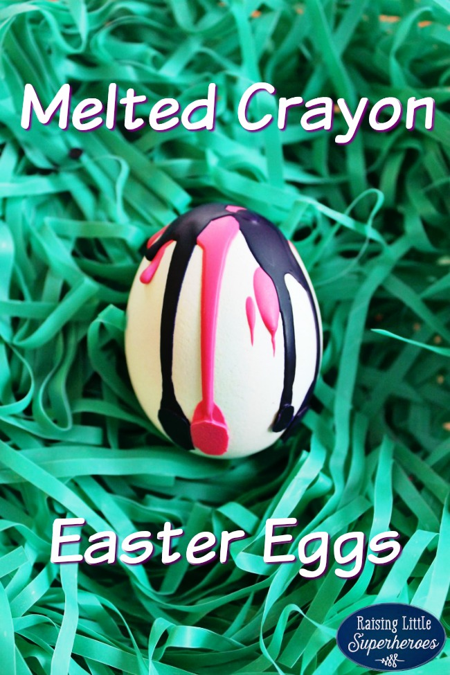 Melted Crayon Easter Egg, Easter Activities for Kids, Activities for Kids, Decorating Easter Eggs