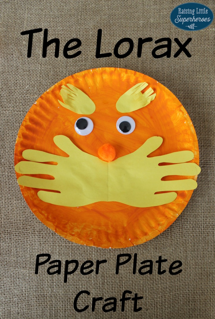 Dr Seuss Paper Plate Craft