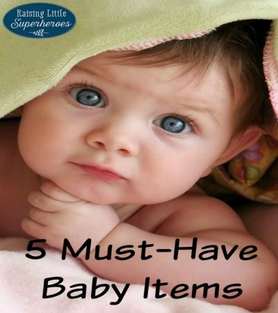 5 Must-Have Baby Items