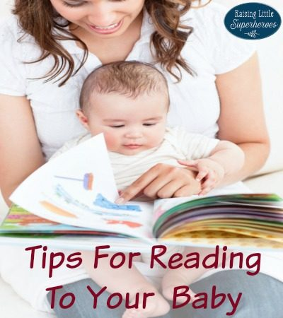 Tips For Reading To Your Baby