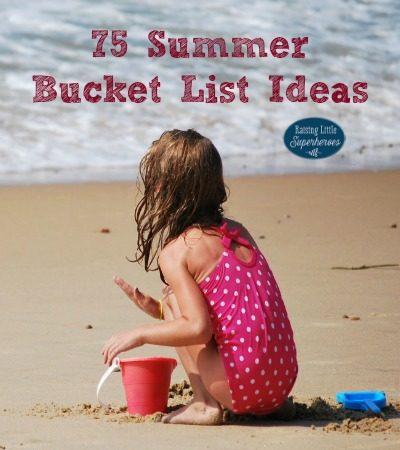 75 Summer Bucket List Ideas for Families