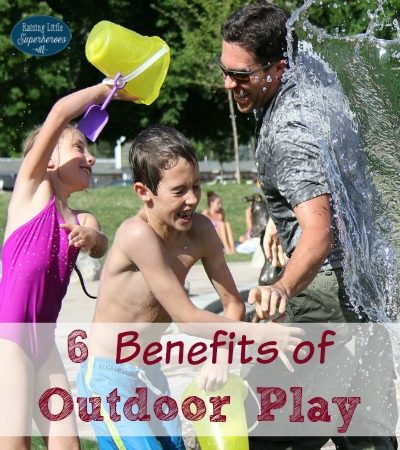 6 Benefits of Outdoor Play
