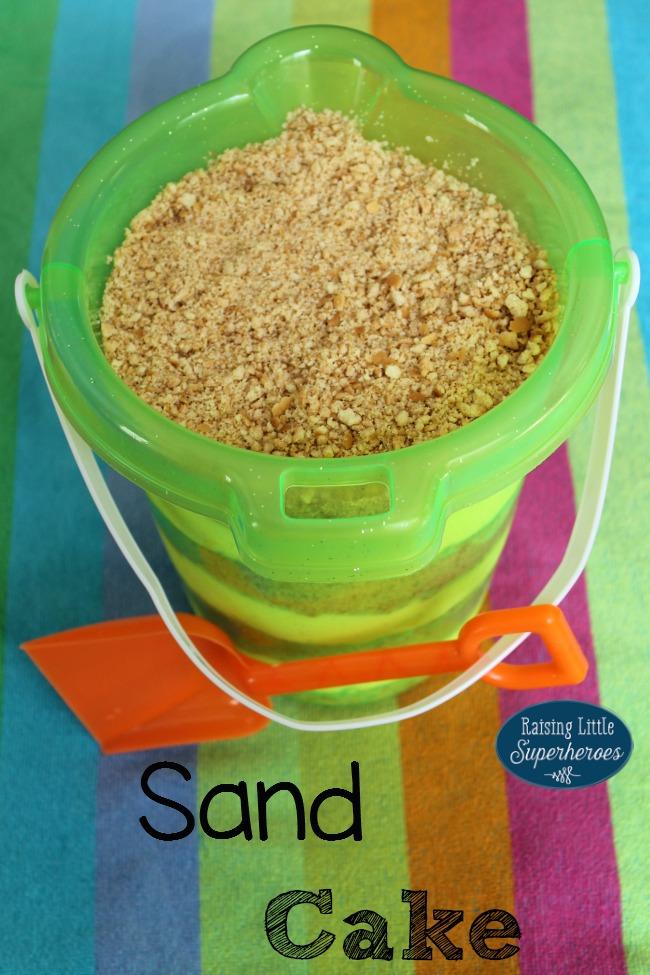 Sand Cake, No Bake Dessert, No-Bake Dessert, Simple Dessert Recipes, No Bake Recipe, No-Bake Recipe, Kid-Friendly Recipe