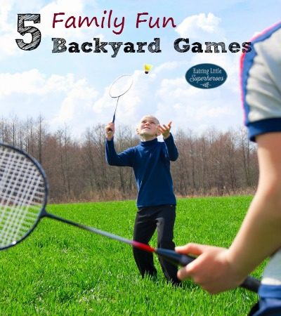 5 Family Fun Backyard Games