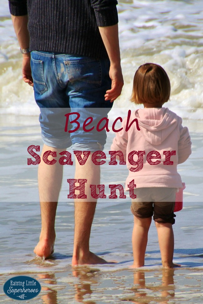 Beach Scavenger Hunt, Outdoor Activiites for Kids, Beach Activities for Kids, Activities for Kids