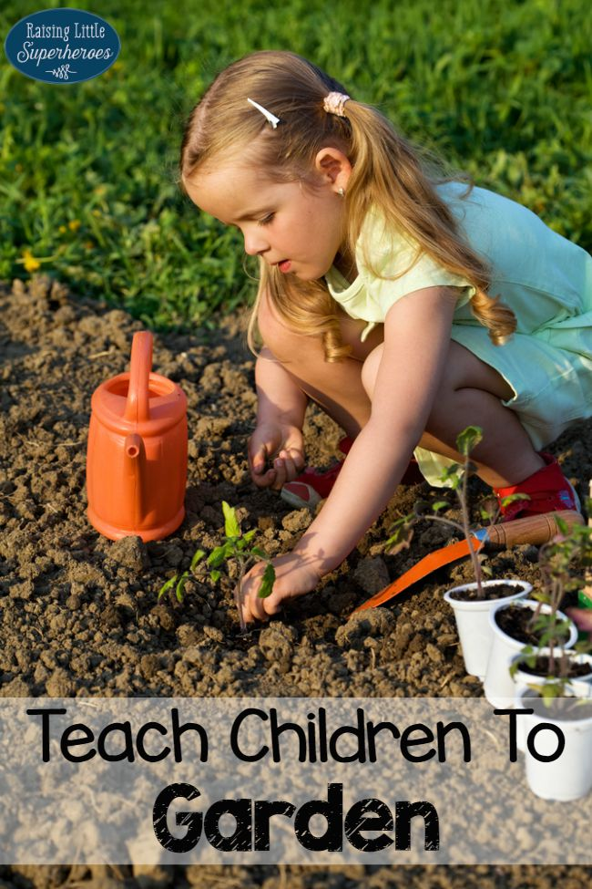 Teach Children To Garden, Gardening, Activities for Kids, Outdoor Activities for Kids