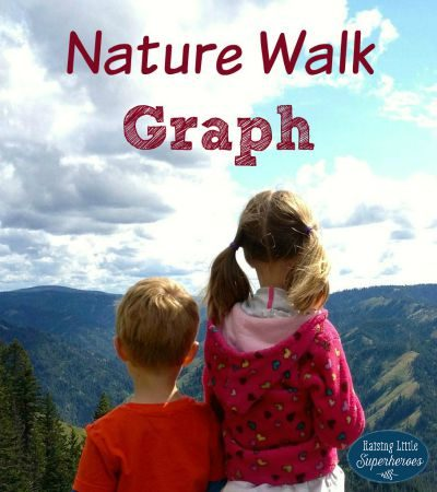 How To Create A Nature Walk Counting Graph