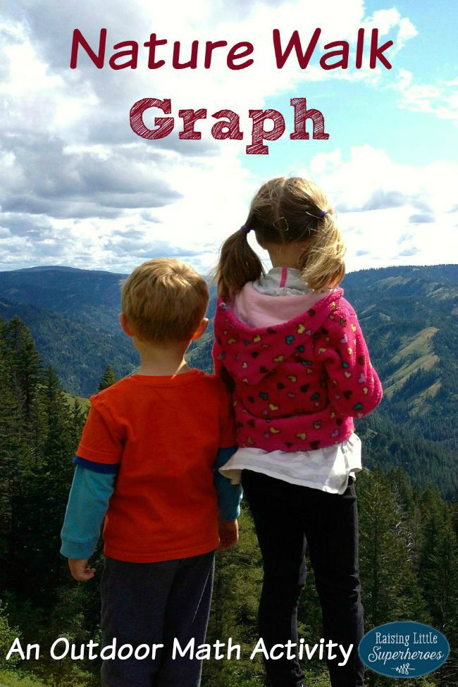 Nature Walk, Nature Graph, Nature Walk Graph, Outdoor Activities for Kids, Activities for Kids