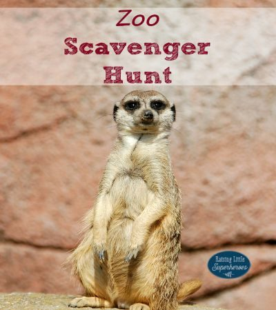Let's Go On A Zoo Scavenger Hunt!