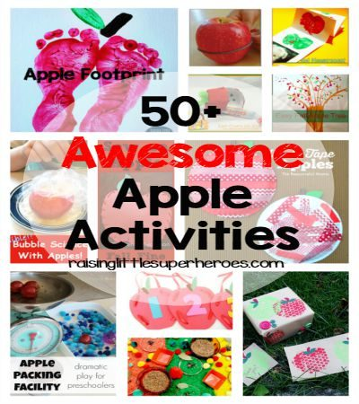 50+ Awesome Apple Activities For Kids
