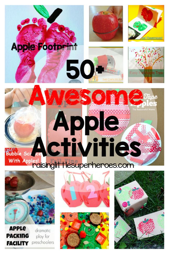 Apple Activities, Apple Crafts, Crafts for Kids, Activities for Kids