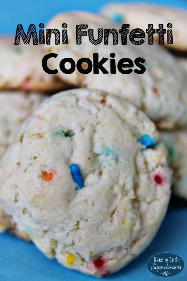Funfetti Cookies, Simple Dessert Recipes, Cake Mix Recipes, Simple Cookie Recipes, Rainy Day Activities