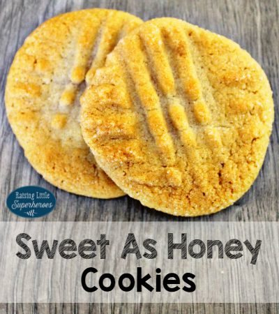 Sweet As Honey Cookies