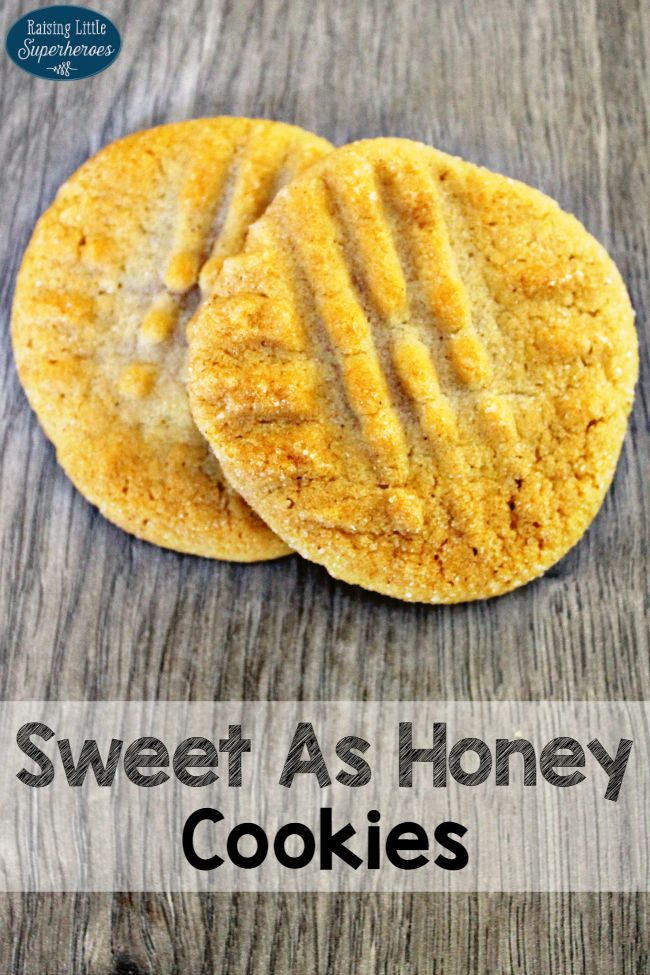 Honey Cookies, Simple Dessert Recipes, Easy Cookie Recipes, Honey Recipes, Easy To Make Cookies