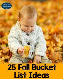 25 Family-Friendly Fall Bucket List Ideas