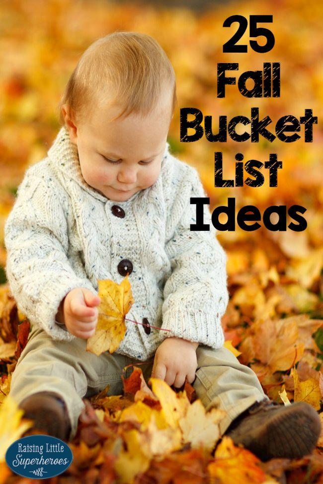 Fall Bucket List, Fall Bucket List Ideas, Activities for Kids, Fall Activities for Kids