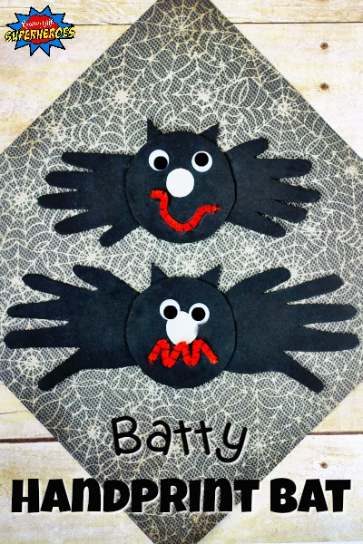 How To Make A Batty Handprint Bat Craft for Kids