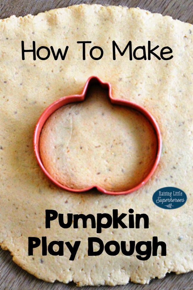 Pumpkin Play Dough, Pumpkin Play Dough Recipe, Tactile Sensory Activities for Kids, No Cook Play Dough Recipe, Edible Play Dough Recipe, Fall Play Dough Recipe