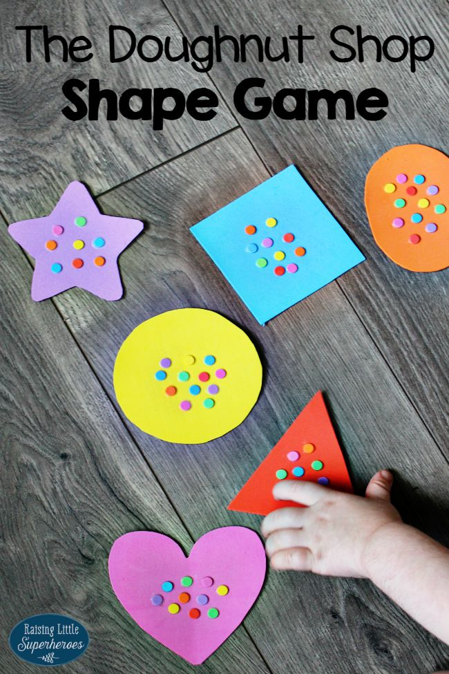 Shape Game for Kids, Shape Game, Learning Shapes Game, Preschool Acitivites