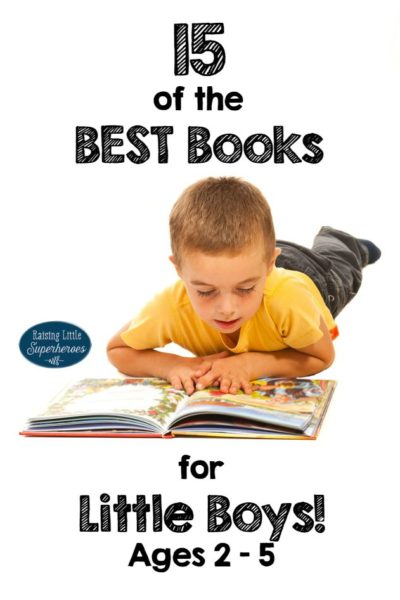 15 of the Best Books for Little Boys