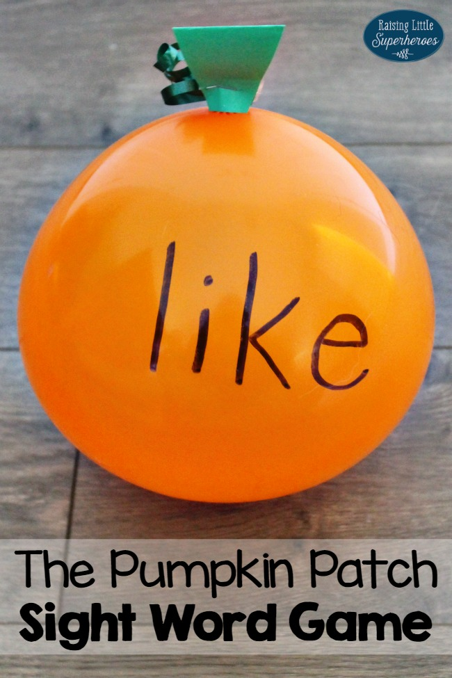 Pumpkin Patch Sight Word Game, Learning Activities, Sight Word Game, Halloween Games, Pumpkin Games, Kindergarten Sight Word Games, Elementary Sight Word Games