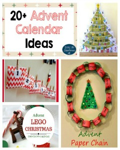 20+ Advent Calendar Ideas: Countdown to Christmas