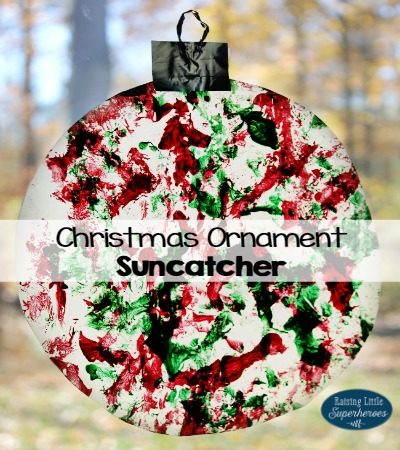 How To Paint A Christmas Ornament Suncatcher