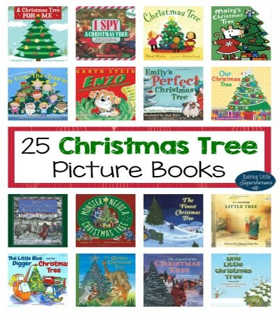 25 Christmas Tree Picture Books for Kids