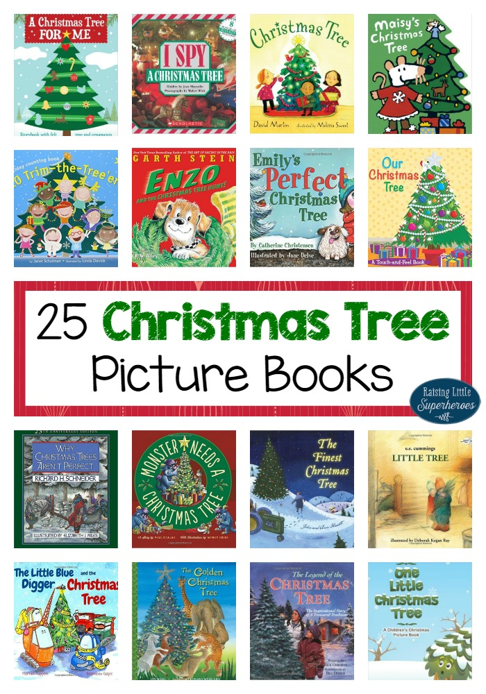 25 Christmas Tree Picture Books for Kids -