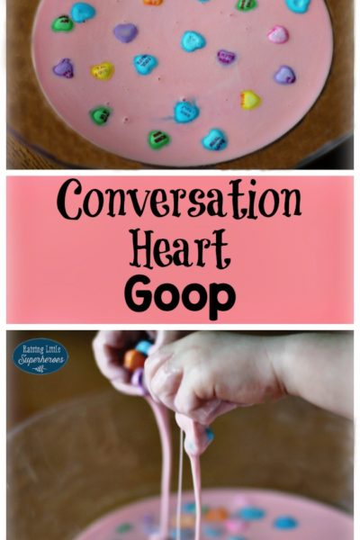 Sweet As Candy Conversation Heart Goop