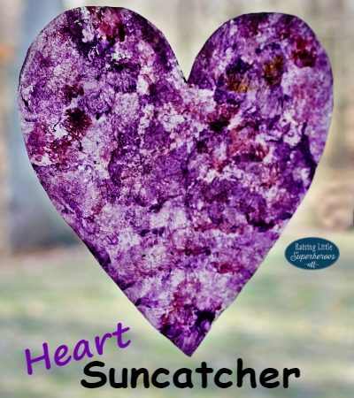 How To Make A Heart Suncatcher