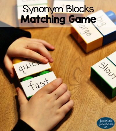 Hands-On Synonym Blocks Matching Game