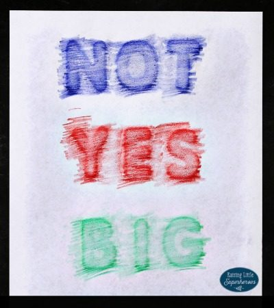 Sight Word Crayon Rubbing Activity for Kids