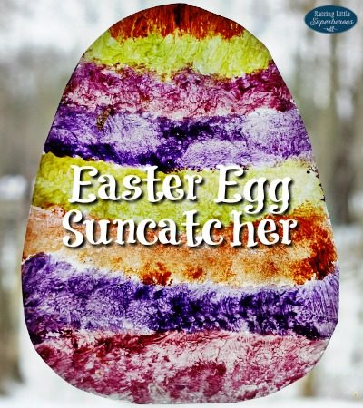 How To Make An Easter Egg Suncatcher