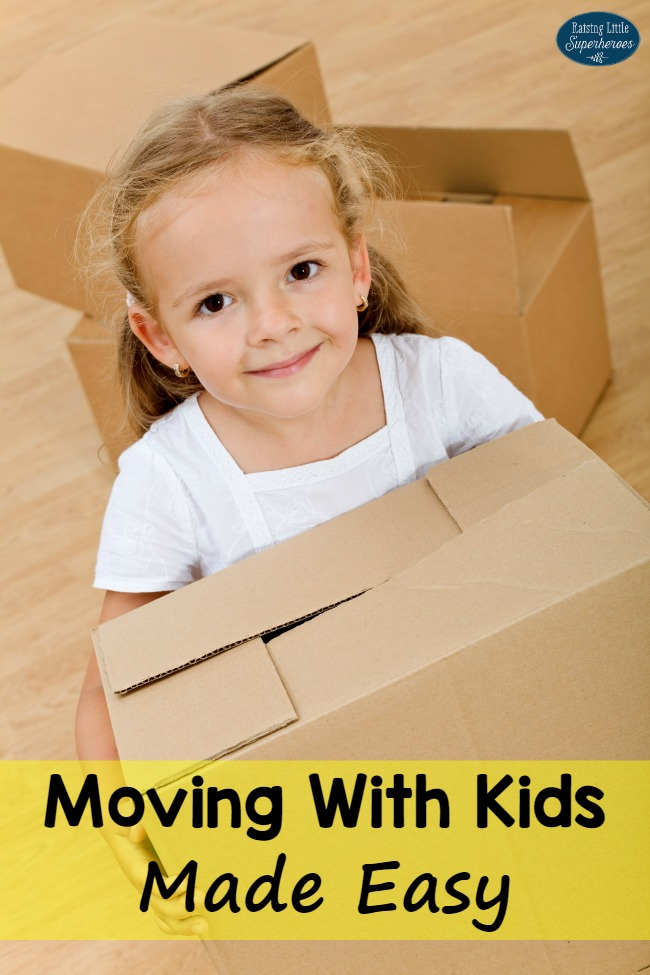 Moving With Kids Made Easy, Moving With Kids, Raising Children, Moving