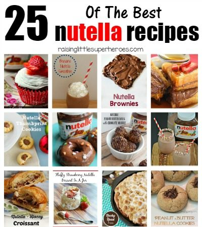 25 Of The Best Nutella Recipes