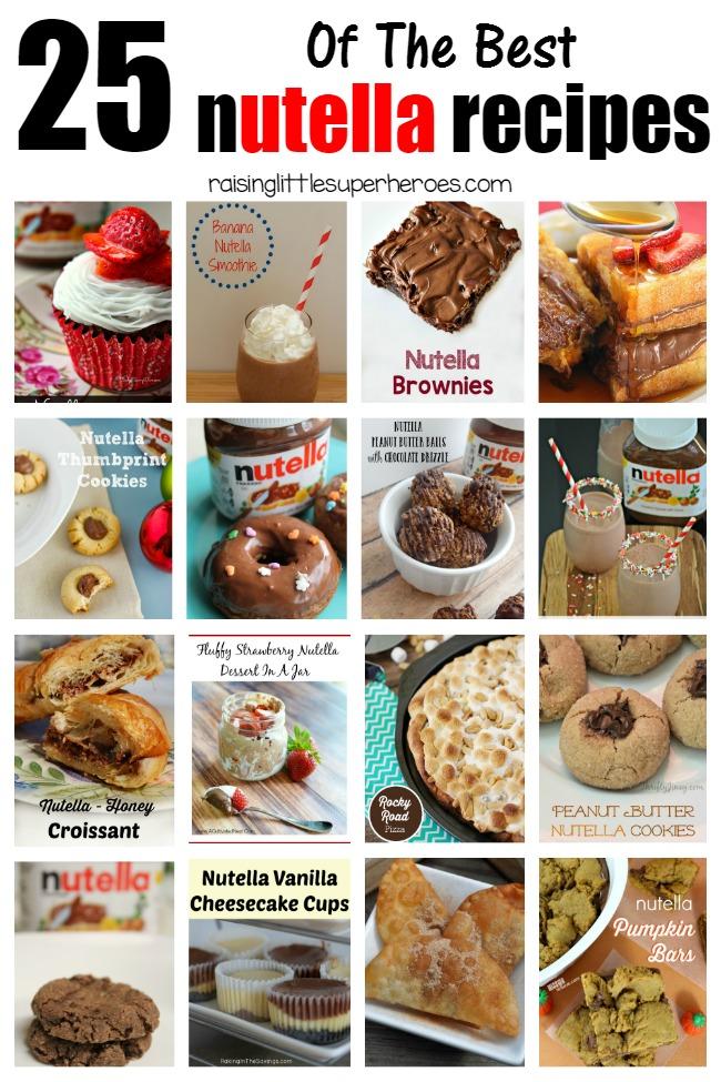 Nutella Recipes, Best Nutella Recipes, Simple Dessert Recipes, Snacks for Kids, Nutella