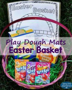 Printable Play Dough Mats For An Easter Basket