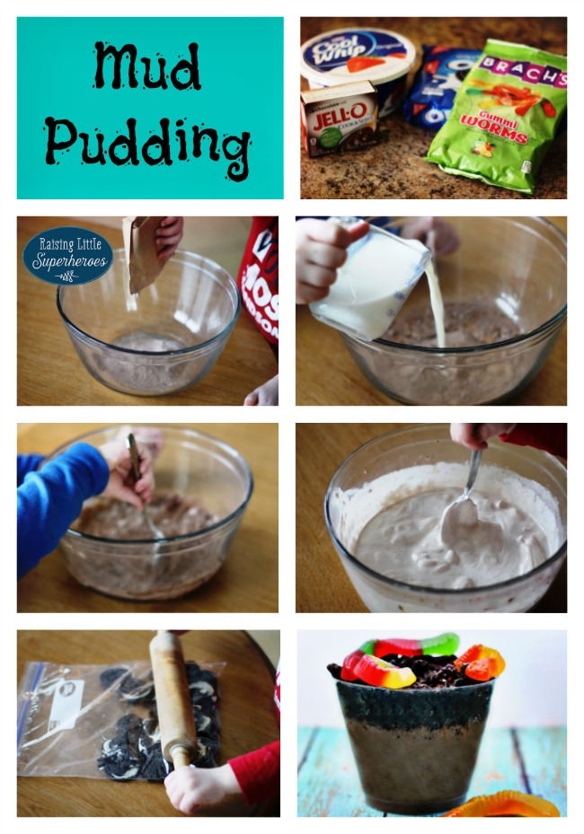 Mud Pudding, Simple Dessert Recipes, Kids in the Kitchen, Cooking With Kids, Dirt Pudding