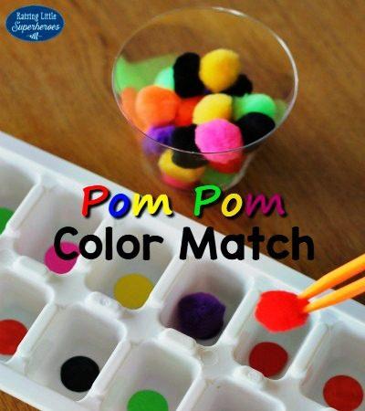 How To Play The Pom Pom Color Match Game