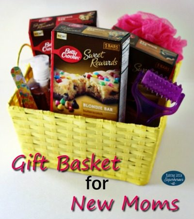 Gift Basket for New Moms
