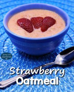 How To Make Strawberry Oatmeal
