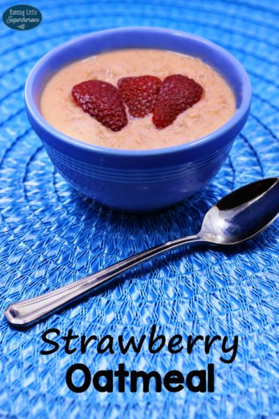 How To Make Strawberry Oatmeal