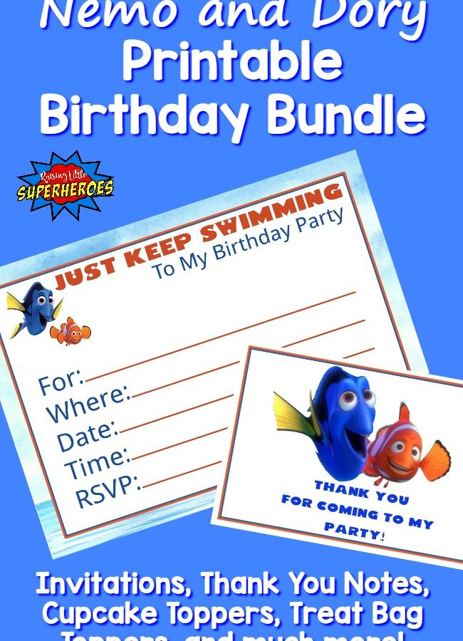 Dory Birthday Bundle