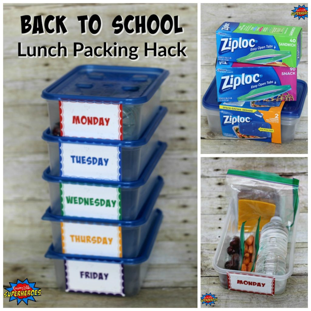 Back To School Lunch Packing Hack, Lunch Packing Hack, Back To School, Lunchbox Ideas