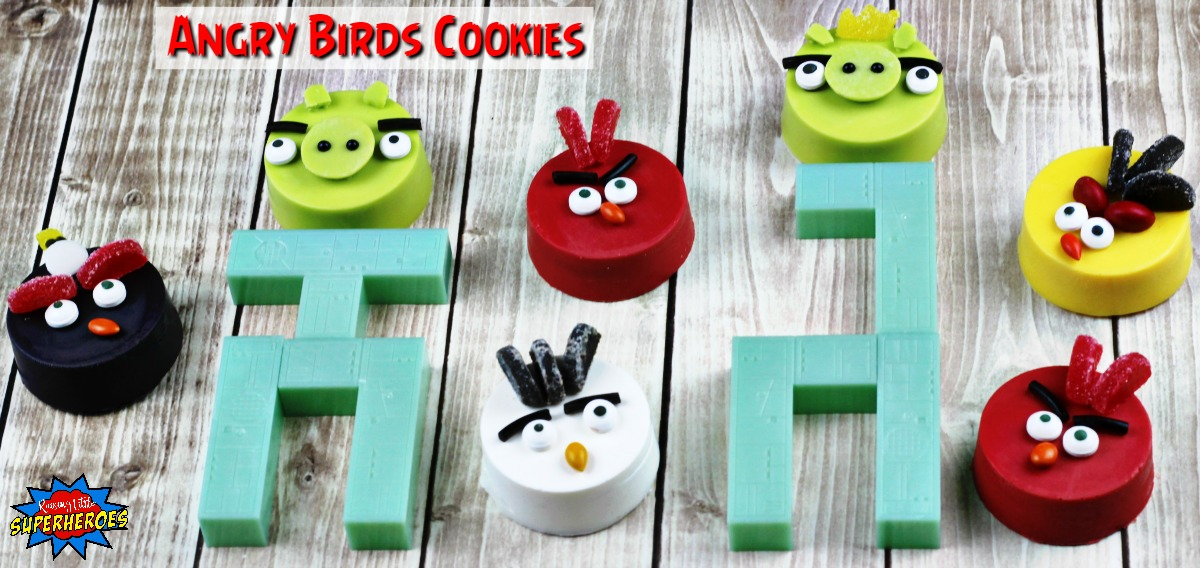 Angry Bird Cookies FB