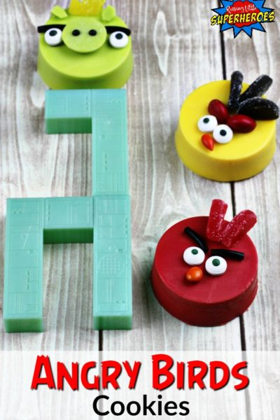 How To Make Angry Birds Cookies